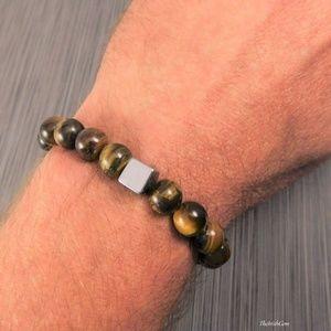 Other - Genuine Tigers Eye Bracelet
